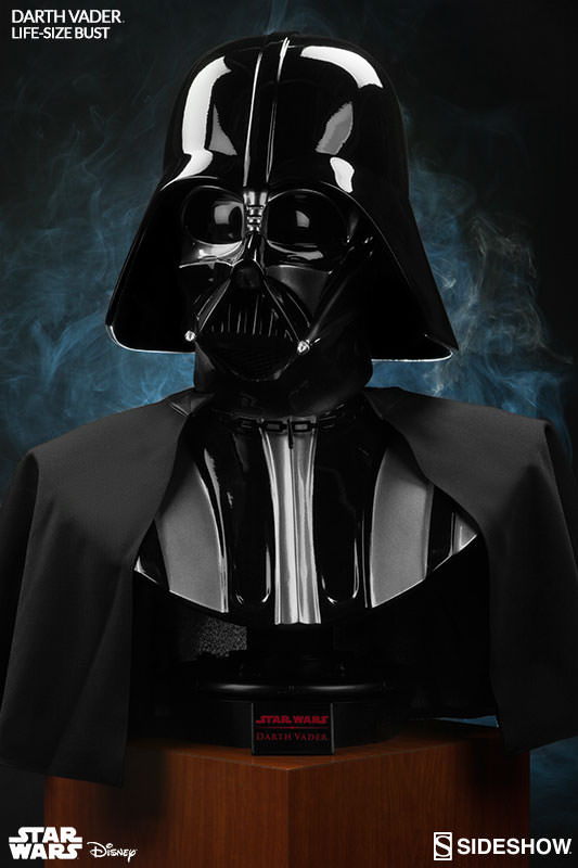 star wars darth vader life size bust. Black Bedroom Furniture Sets. Home Design Ideas