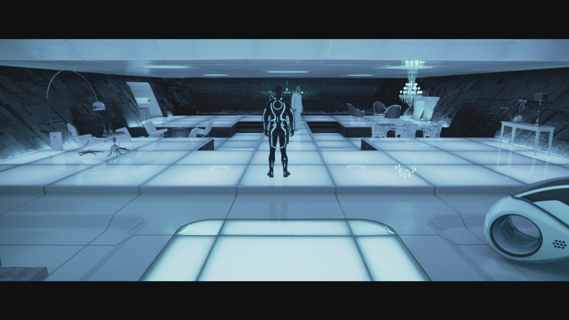 Tron legacy kevin flynn lightcycle for Legacy house